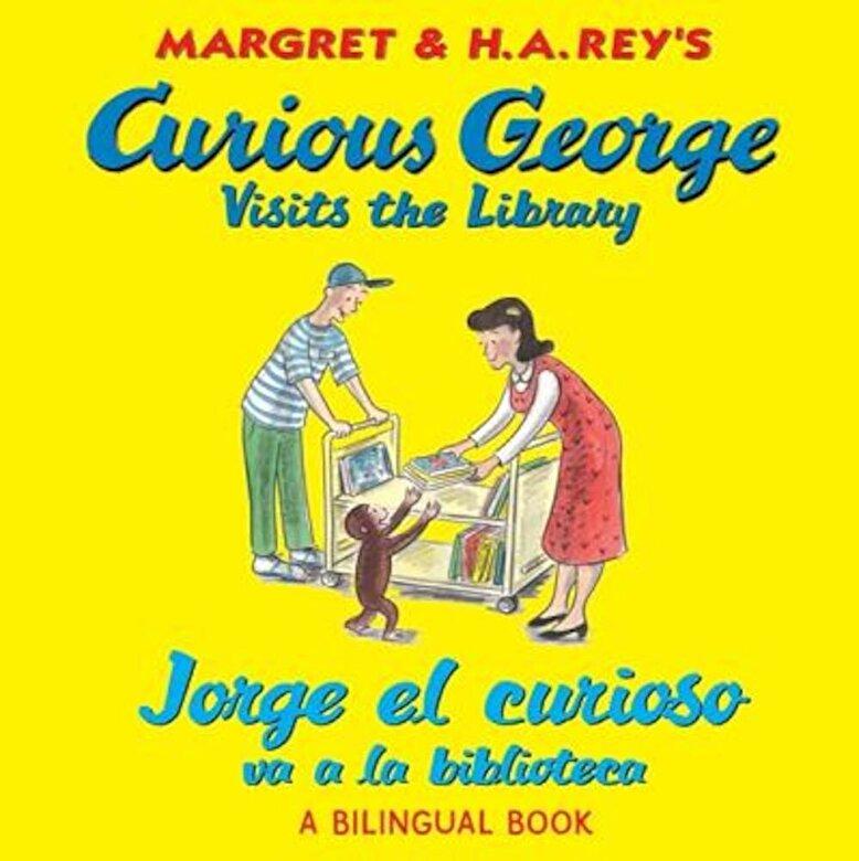 H. A. Rey - Jorge El Curioso Va a la Biblioteca/Curious George Visits the Library (Bilingual Edition), Paperback -