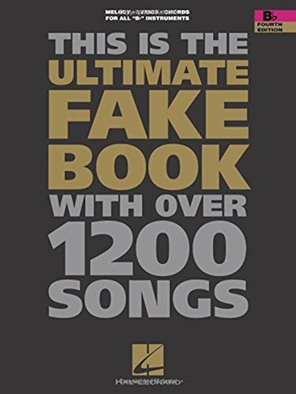 Hal Leonard Corp - The Ultimate Fake Book: B-Flat Edition, Paperback -