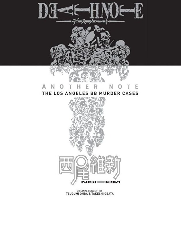 Ishin Nishio - Death Note Another Note: The Los Angeles BB Murder Cases (Novel): Volume 1 -
