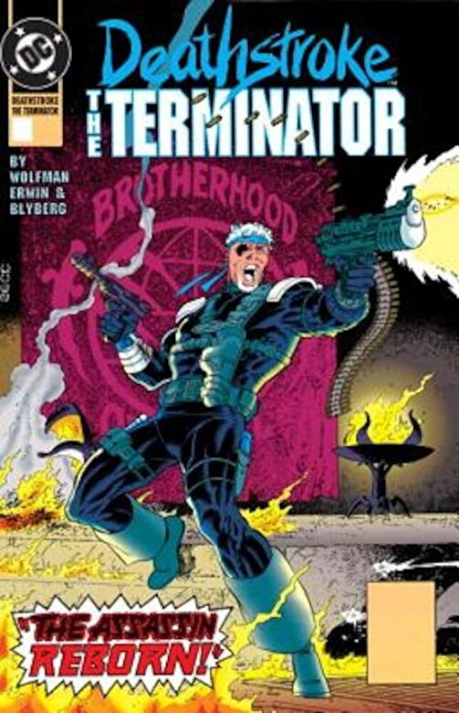 Marv Wolfman - Deathstroke, the Terminator Vol. 3: Nuclear Winter, Paperback -
