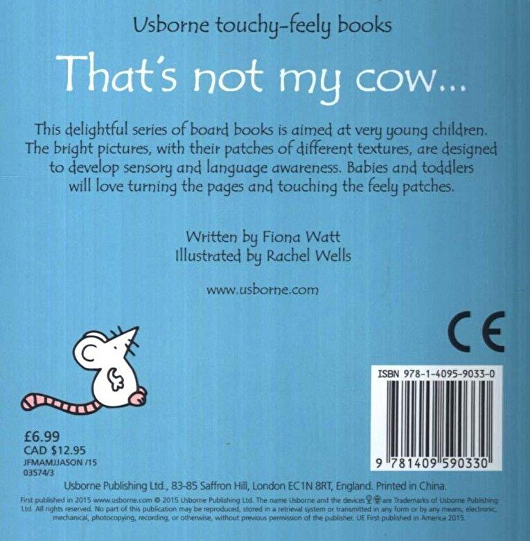 Fiona Watt - That's Not My Cow, Hardcover -