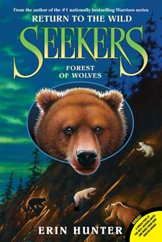 Erin Hunter - Seekers: Return to the Wild #4: Forest of Wolves, Paperback -