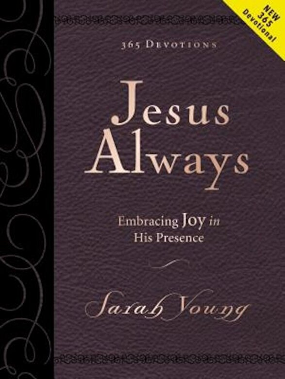 Sarah Young - Jesus Always Large Deluxe: Embracing Joy in His Presence, Hardcover -