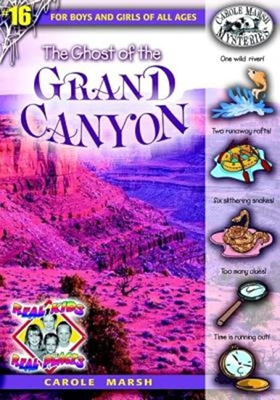 Carole Marsh - The Ghost of the Grand Canyon, Paperback -