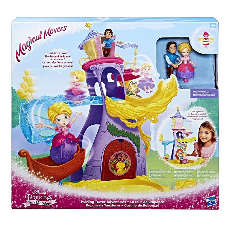 Disney - Disney Princess - Set tematic Turnul lui Rapunzel, cu miscari magice -