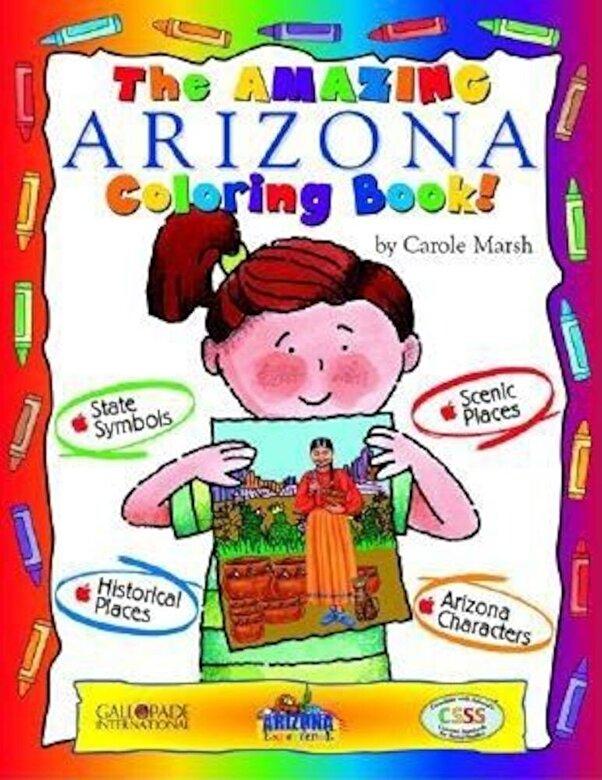 Carole Marsh - Awesome Arizona Color Bk, Paperback -