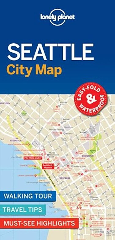 Lonely Planet - Lonely Planet Seattle City Map -