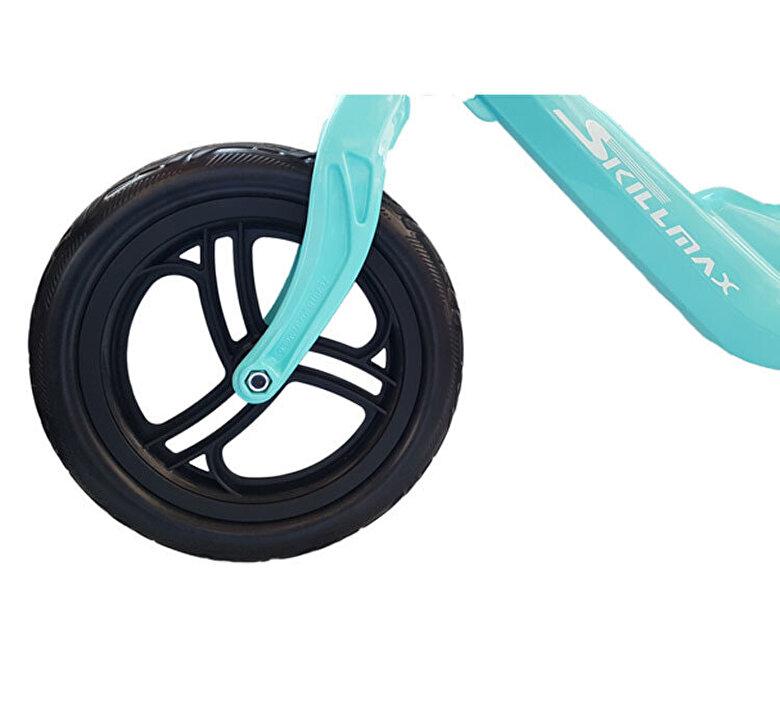 Skillmax - Bicicleta fara pedale Skillmax, 12 inch, albastru -