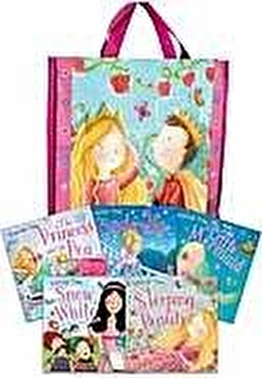 *** - Princess Time Collection 5 Books Set in a Bag Children Gift Pack -