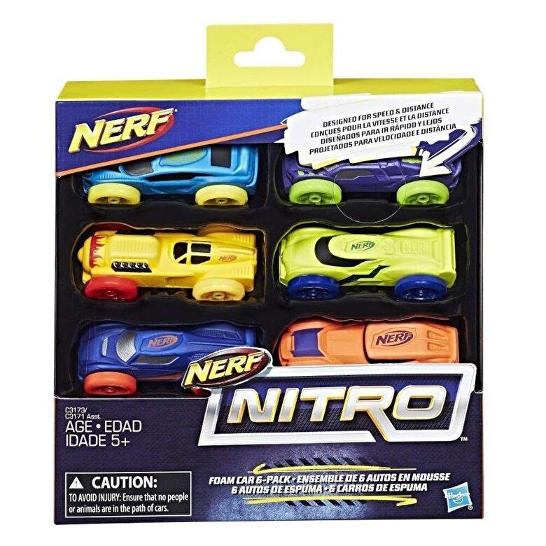 Nerf - Set 6 masinute Nitro -