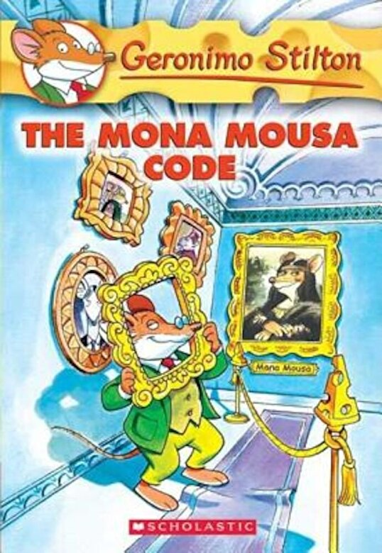 Geronimo Stilton - The Mona Mousa Code, Paperback -