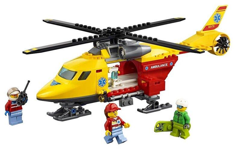 LEGO - LEGO City, Elicopterul ambulanta 60179 -