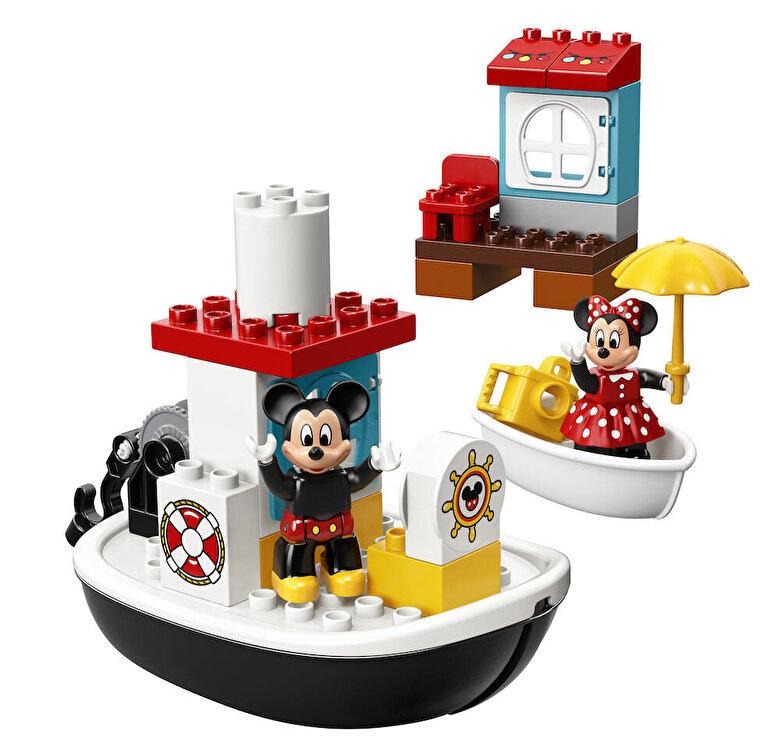 LEGO - LEGO DUPLO - Disney Junior, Barca lui Mickey 10881 -