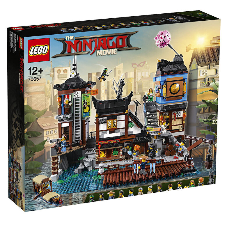 LEGO - LEGO Ninjago Movie, Docurile orasului NINJAGO 70657 -