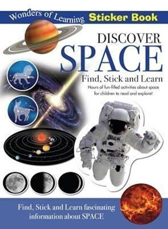 *** - Discover Space Sticker Book -