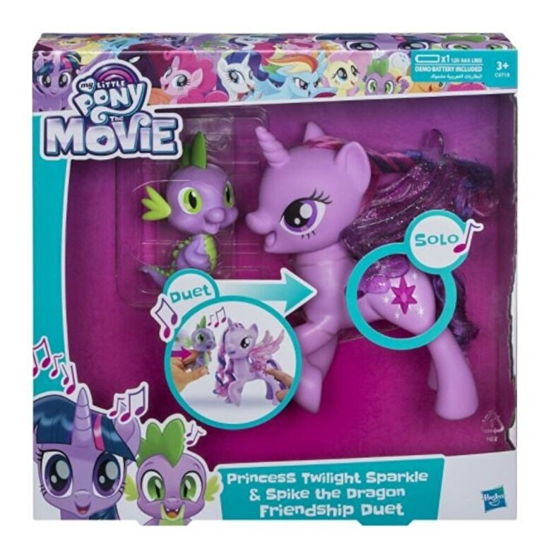 My Little Pony - My Little Pony Movie, Twilight Sparkle & Spike Duetul prieteniei, in limba romana -