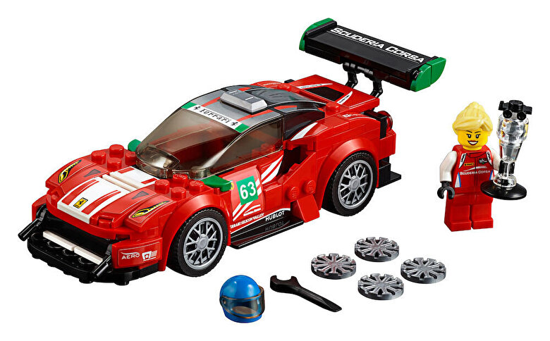 LEGO - LEGO Speed Champions, Ferrari 488 GT3 Scuderia Corsa 75886 -