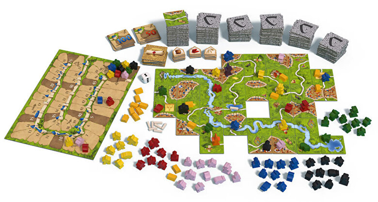 Oxygame - Joc Carcassonne Big Box 6 -
