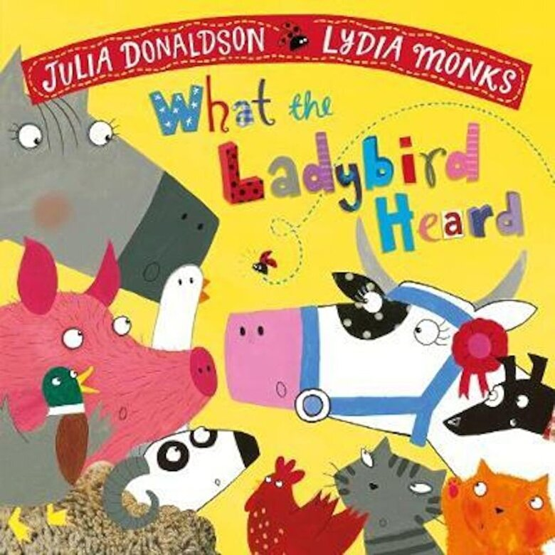 Julia Donaldson - What the Ladybird Heard, Paperback -