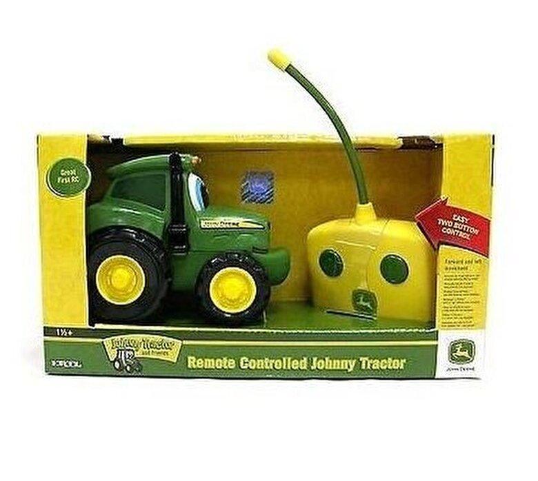Tomy - John Deere, Tractor Johnny cu telecomanda -