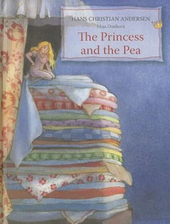 Hans Christian Andersen - The Princess and the Pea, Hardcover -