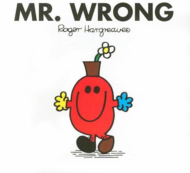 Roger Hargreaves - Mr. Wrong, Paperback -