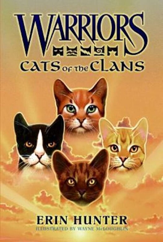 Erin Hunter - Warriors: Cats of the Clans, Hardcover -