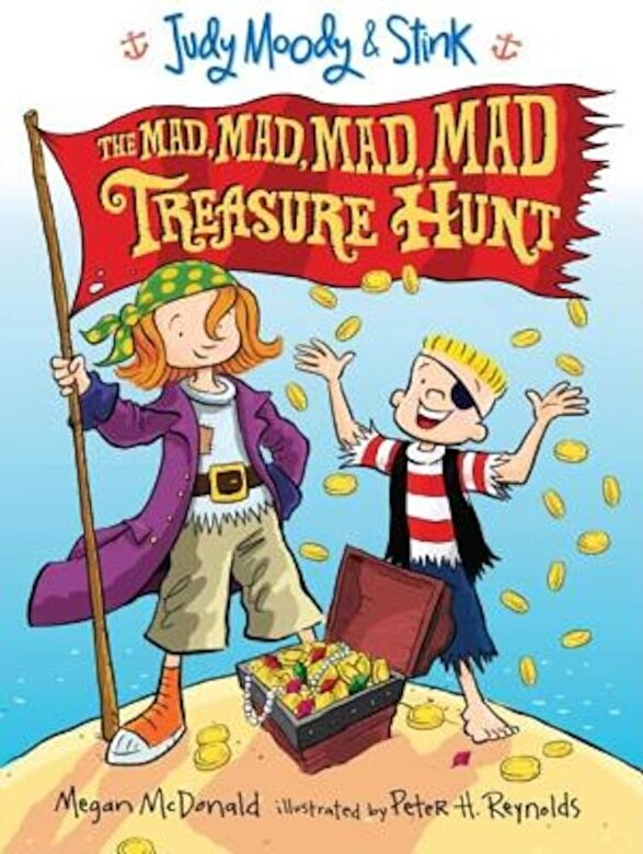 Megan McDonald - Judy Moody and Stink: The Mad, Mad, Mad, Mad Treasure Hunt, Hardcover -