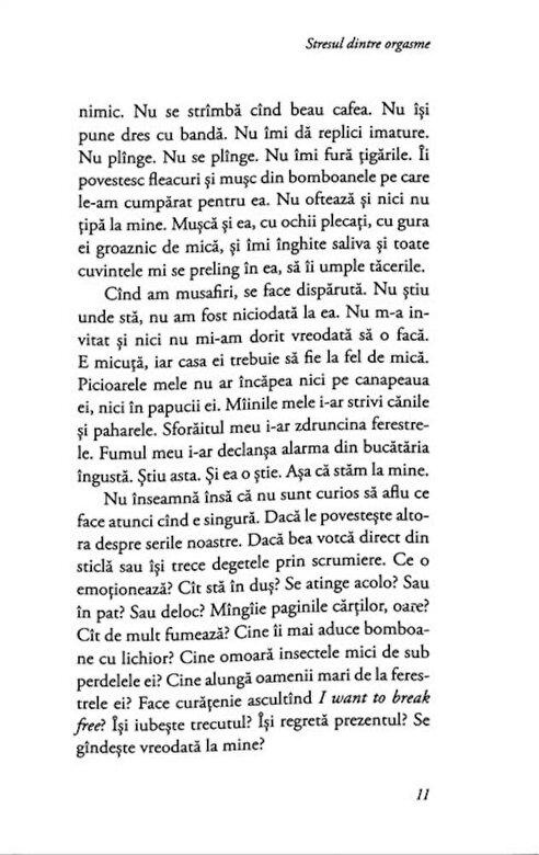 Ana Manescu - Stresul dintre orgasme -
