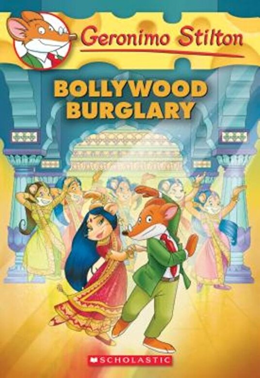 Geronimo Stilton - Bollywood Burglary (Geronimo Stilton #65), Paperback -