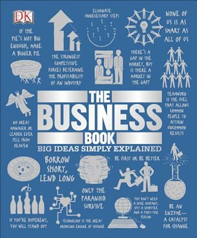 DK - The Business Book, Hardcover -