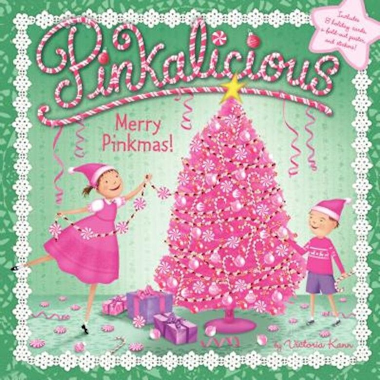 Victoria Kann - Merry Pinkmas! [With 8 Holiday Cards and Poster], Paperback -