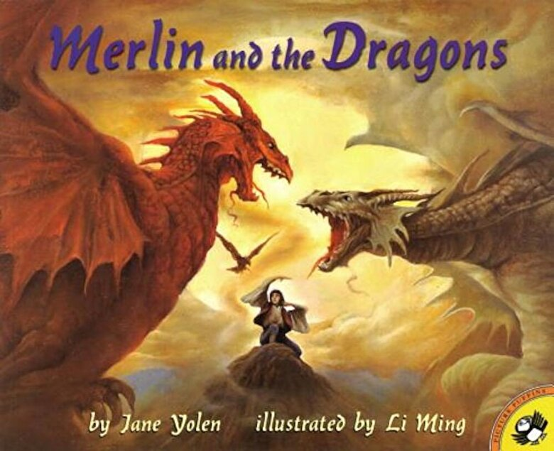 Jane Yolen - Merlin and the Dragons, Paperback -