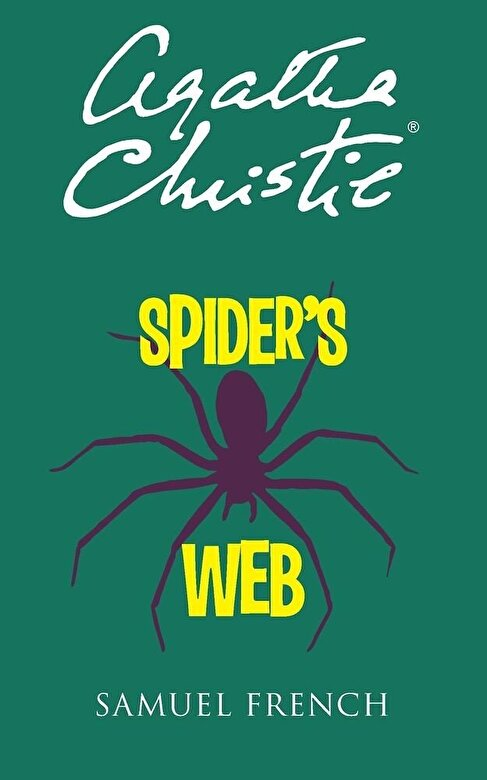 Agatha Christie - Spider's Web, Paperback -