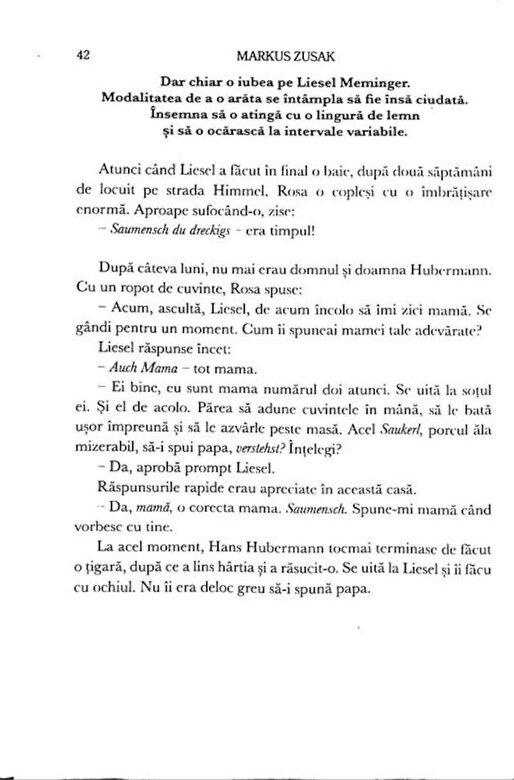 Markus Zusak - Hotul de carti -