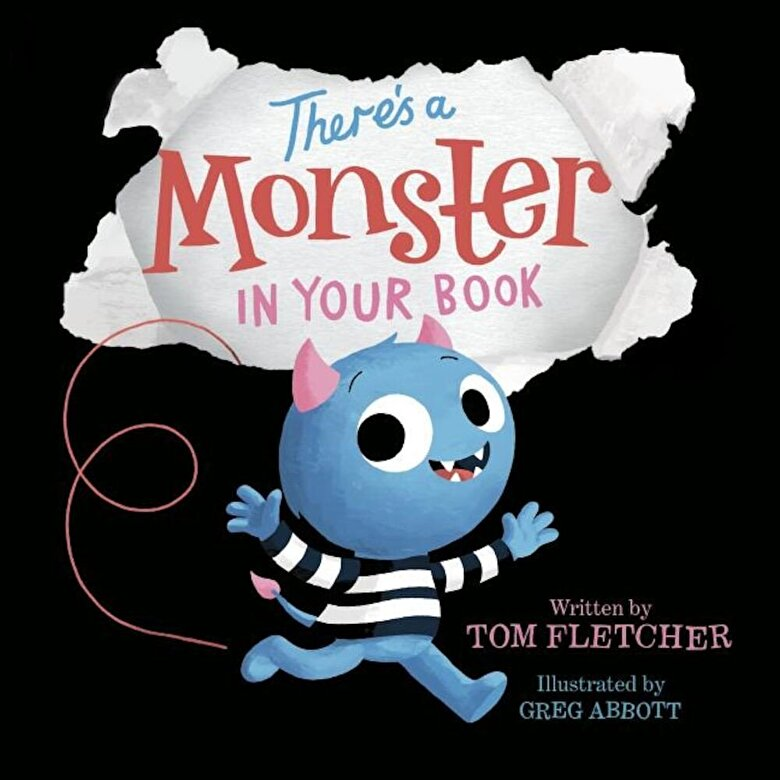 Tom Fletcher - There's a Monster in Your Book, Hardcover -