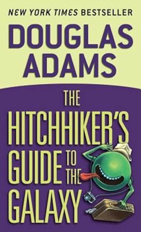 Douglas Adams - The Hitchhiker's Guide to the Galaxy, Paperback -