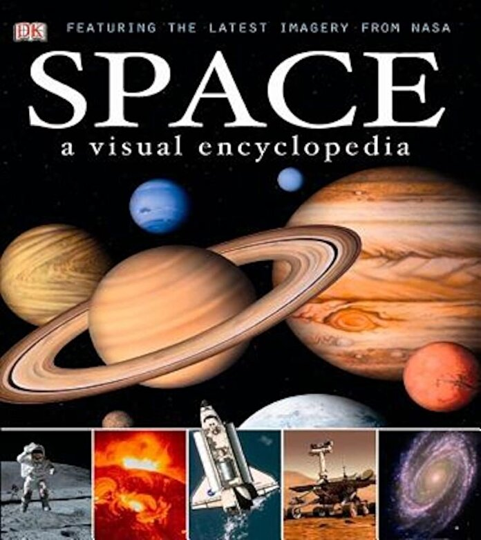 DK - Space: A Visual Encyclopedia, Hardcover -