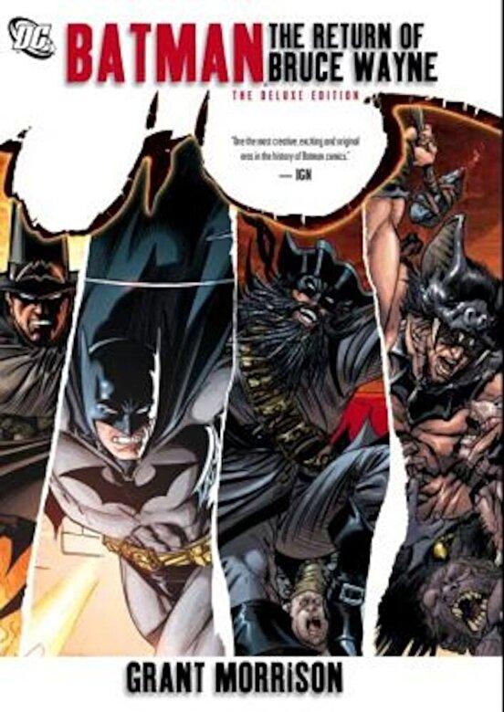 Grant Morrison - Batman: The Return of Bruce Wayne, Paperback -
