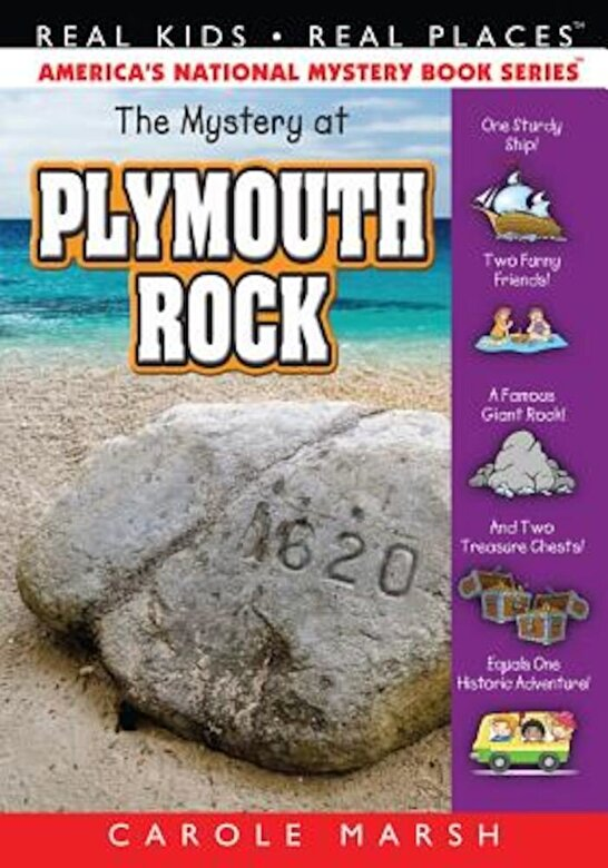 Carole Marsh - Mystery at Plymouth Rock, Paperback -