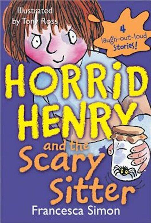 Francesca Simon - Horrid Henry and the Scary Sitter, Paperback -