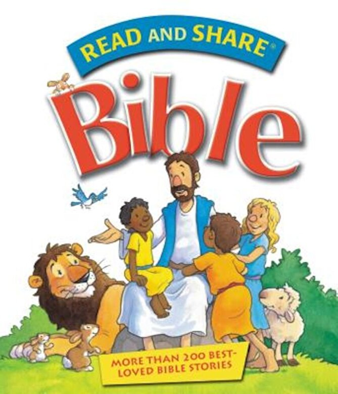 Gwen Ellis - Read and Share Bible: Over 200 Best Loved Bible Stories, Hardcover -