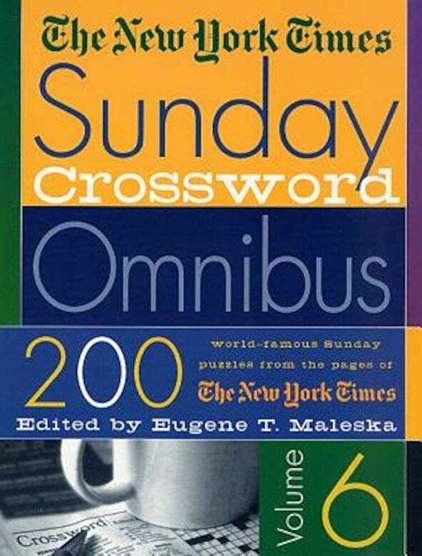 The New York Times - The New York Times Sunday Crossword Omnibus, Paperback -