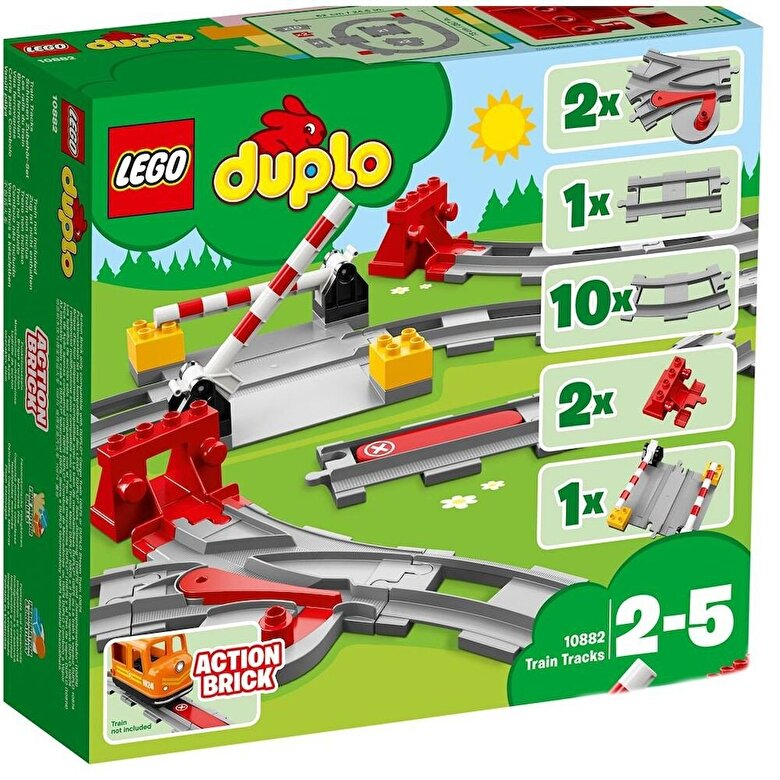 LEGO - LEGO DUPLO, Sine de cale ferata 10882 -