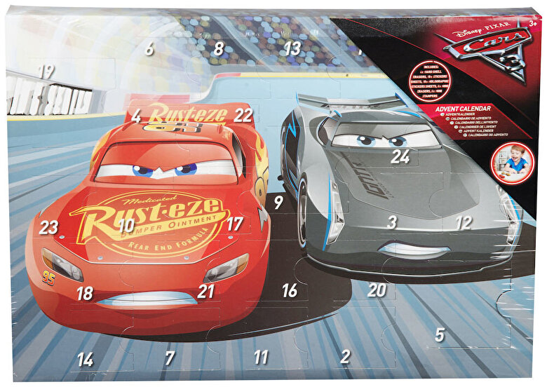 Disney Pixar - Cars 3 - Calendar de Advent -