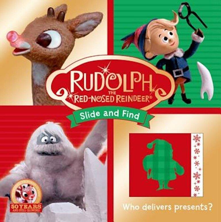 Roger Priddy - Rudolph the Red-Nosed Reindeer Slide and Find -