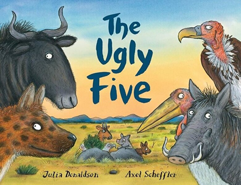 Julia Donaldson - The Ugly Five, Hardcover -