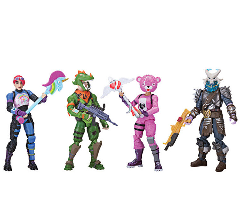 Fortnite - Set de joaca Fortnite Squad - 4 figurine si accesorii -