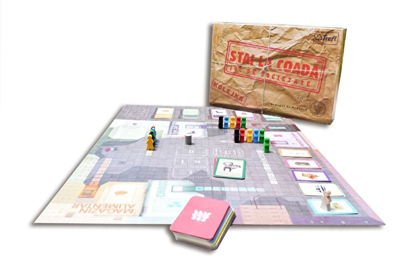 Ideal Board Games - Joc Stai la coada! -