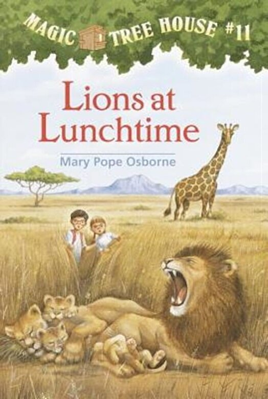 Mary Pope Osborne - Lions at Lunchtime, Hardcover -